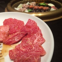 Photo taken at 焼肉草野 by Mitsuhiro T. on 11/3/2015