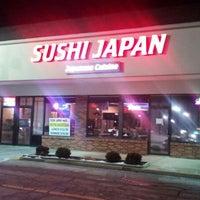 Photo taken at Sushi Japan by Peter M. on 2/25/2013