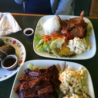 Photo taken at Aloha Hawaiian BBQ by Luigi on 10/11/2012