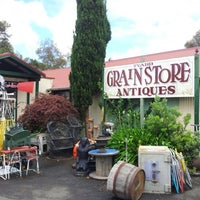 Photo taken at Tyabb Grain Store Antiques by ♡ⓘⓥⓨⓛⓢⓔ♡ on 12/2/2012