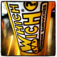 Photo taken at Which Wich? Superior Sandwiches by David O. on 4/23/2013