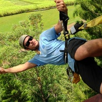 Photo taken at Just Live Zipline Treetop Tour by marc b. on 8/16/2013