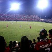 Photo taken at PAT Stadium by ดื่ม พ. on 10/21/2012