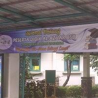 Photo taken at Sekolah Al-Azhar BSD by Taswin Noer on 7/31/2013