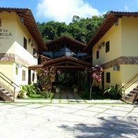 Photo taken at Pousada Canto De Itamambuca by Marcia P. on 4/18/2014