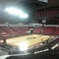 Photo taken at Stegeman Coliseum by Tony M. on 1/12/2013