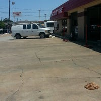 Photo taken at Discount Tire by Luis C. on 4/24/2013