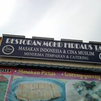 Photo taken at Restoran Mohd Firdaus Tan by Mimi A. on 10/14/2012