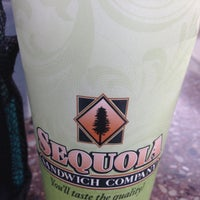 Photo taken at Sequoia Sandwich Company by Esther R. on 1/22/2016