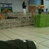 Photo taken at Igreja Obreiros De Cristo Sede by Gilberto on 12/2/2012