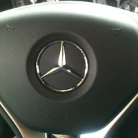 Photo taken at Mercedes-Benz Hermer by Wallace on 10/19/2012