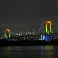 Photo taken at Odaiba Marine Park by おかっち on 9/6/2013