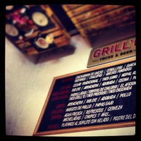 Photo taken at GRILL'O Tacos & Beer by Jose Pablo R. on 7/29/2013