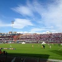 "Photo taken at Stadio Cibali ""Angelo Massimino"" by Federico on 10/28/2012"