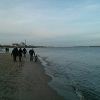 Photo taken at Elbstrand Bassenfleth by Stefan A. on 12/31/2013