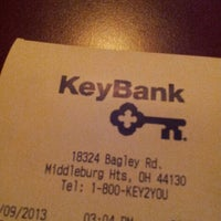 Photo taken at KeyBank by Ratar on 4/9/2013