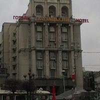 Снимок сделан в Готель Козацький / Kozatskiy Hotel пользователем Andrew P. 3/3/2013