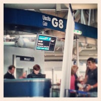Photo taken at Gate G8 by James R. on 4/29/2013