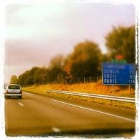 Photo taken at Autoroute A1 | L'Autoroute du Nord by James R. on 10/11/2012