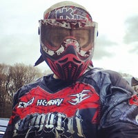Photo taken at Bricket Wood Paintball Centre by James R. on 5/4/2013