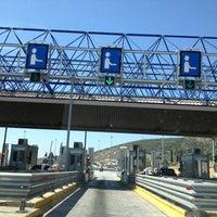 Photo taken at Σταθμός Διοδίων Ελευσίνας by Jimmy O. on 4/27/2013