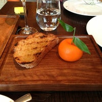 Photo taken at Dinner by Heston Blumenthal by Howard T. on 12/21/2012