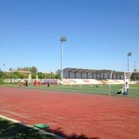 Photo taken at Tpao Futbol Sahasi by Kenann on 4/14/2013