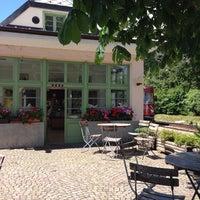 Photo taken at Café am Bahnhof by mkatsu A. on 7/15/2014