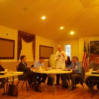 Photo taken at Casa Columbo Civic Association by Esther T. on 12/5/2012