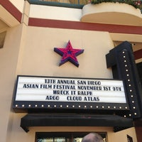 Photo taken at UltraStar Mission Valley Cinemas by Marimelle P. on 11/4/2012