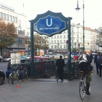 Photo taken at Hermannplatz by Art N. on 10/17/2012