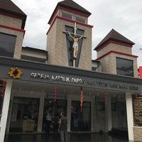 Photo taken at Gereja Hati Yesus yang Maha Kudus by AGUSTINUS R. on 2/3/2017