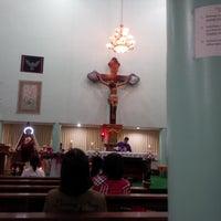 Photo taken at Gereja Hati Yesus yang Maha Kudus by AGUSTINUS R. on 12/1/2013