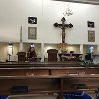 Photo taken at Gereja Hati Yesus yang Maha Kudus by AGUSTINUS R. on 12/11/2016