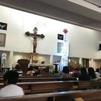 Photo taken at Gereja Hati Yesus yang Maha Kudus by AGUSTINUS R. on 1/6/2017