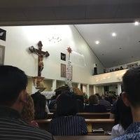 Photo taken at Gereja Hati Yesus yang Maha Kudus by AGUSTINUS R. on 12/24/2016