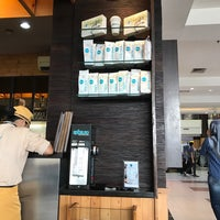 Photo taken at EXCELSO Café by AGUSTINUS R. on 3/27/2017