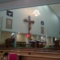 Photo taken at Gereja Hati Yesus yang Maha Kudus by AGUSTINUS R. on 2/24/2013