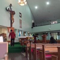 Photo taken at Gereja Hati Yesus yang Maha Kudus by AGUSTINUS R. on 6/2/2013