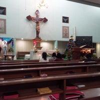 Photo taken at Gereja Hati Yesus yang Maha Kudus by AGUSTINUS R. on 12/29/2013