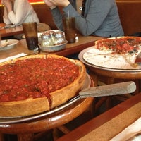 Photo taken at Zachary's Chicago Pizza by Adam on 11/20/2012