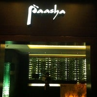 Photo taken at Paasha by Sumeet on 11/3/2012