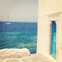 Photo taken at Mykonos Island by AJ on 5/29/2013