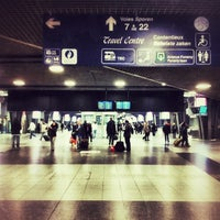 Photo taken at Brussels-South Railway Station (ZYR) by Jason A. on 11/11/2012