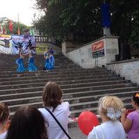 Снимок сделан в Большая Митридатская лестница пользователем Вадим, сэр 6/27/2014