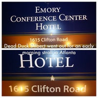 Photo taken at Emory Conference Center Hotel by Gary L. on 3/20/2013