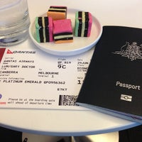 Photo taken at Qantas Business Lounge by Gary L. on 6/29/2013