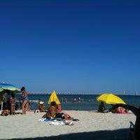 Photo taken at Spiaggia Castello by Nunù D. on 8/1/2013