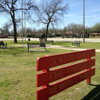 Photo taken at Denton County Fire Fighters Memorial Park by Deb H. on 3/16/2013