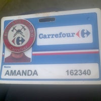 Photo taken at Carrefour by Amanda A. on 10/4/2012